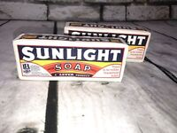 SOAP VINTAGE SUNLIGHT 2 BARS IN 1 PACK of HOUSEHOLD SOAP
