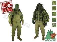 Sniper Coat Ghost Prizrak Russian Army SPOSN SSO Сamouflage Cape Hood