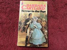 TERROR IN THE SUN BY  BARBARA CARTLAND**