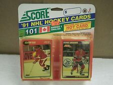 OLDER HOCKEY CARDS SCORE 1991- CANADIAN ENGLISH SERIES 1- SHAWN BURR- NEW- L136