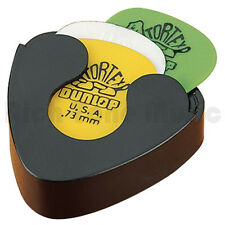 New Jim Dunlop Spring Loaded Guitar Pick Holder (Black)