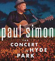 PAUL SIMON - THE CONCERT IN HYDE PARK (CD/BLURAY)  3 CD NEU