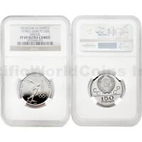 Russia 1978 (L) Moscow Olympics Discus 150 Roubles Platinum NGC PF69 ULTRA CAMEO