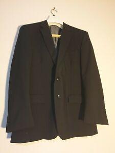 Van Heusen Black Suit Jacket Classic Fit Chest 112 Incudes Storage Dust Cover