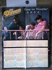 The donnas fan club calendar poster 2004 + button
