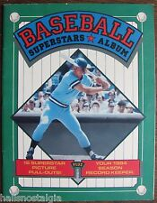 """1984 """"Baseball Superstars Album:"""", 16 Pictures; Record Keeper, How to Keep Score"""