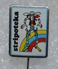 Lucky Luke Cartoon Comic vintage pin badge rare