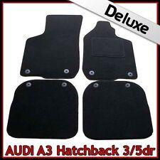 Audi A3 Mk1 1996-2003 Tailored LUXURY 1300g Carpet Car Floor Mats BLACK