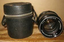 Auto Mamiya / Sekor 1:1.4 55mm Vintage Screw Mount Lens