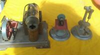Wilesco Model Steam Engine . Vintage with base