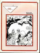 OH...MAY 1993 INLAND B&W 'MEGALOMANIAC'S CORNER' -LAVENDER LADIES-KENNEDY...VF+
