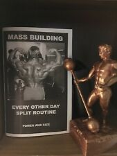 Powerlifting Bodybuilding Original Every Other Day Split Mass New Booklet 2017