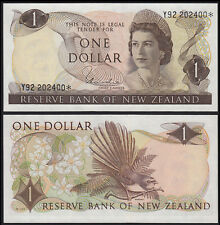 NEW ZEALAND 1 DOLLAR HARDIE (P163dr) QEII * REPLACEMENT UNC