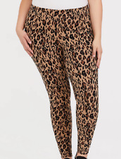 Torrid full length leopard print premium leggings, Plus size 4X