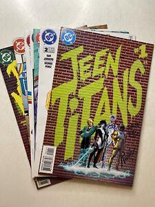 Teen Titans #1-7 set DC Comics 1996 series Dan Jurgens/George Perez VF/NM
