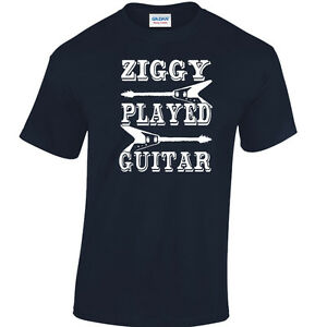 David Bowie Ziggy Stardust Ziggy Played Guitar T-Shirt