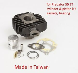 Cylinder Piston rebuilt kit OEM 0451718 Polaris Predator 50 2T 03 04 05 US CA