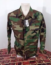 NWT Genuine Gear BDU Camo Army Shirt Coat Sz X Small Reg NEW Military Hunt Fish