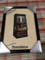 Sound Leisure Mardi Gras Cd Jukebox Brochure In Frame For Games Room / Man Cave