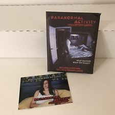 PARANORMAL ACTIVITY Breygent 2010 SEALED PREMIUM PACK of CARDS (2 Hits) w/ PROMO