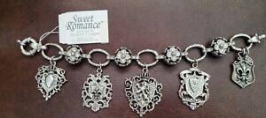 SWEET ROMANCE Charm Bracelet French Design