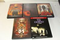 Lot of 5 Horror DVD movies, Exorcist, Devil Rejects, Halloween, 31, Rob Zombie