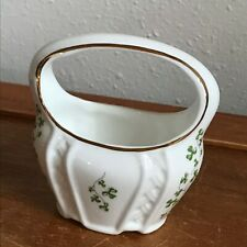 Estate Royal Tara Fine Bone China Made in Galway Ireland Marked Small Basket w