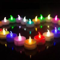 24 Pack Romantic Color Changing LED Tea Lights Flameless Tealight Candle Lamp