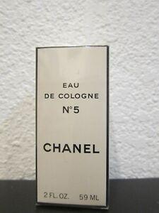 New Sealed Chanel No 5 Eau de Cologne - 2 fl. oz./59 ml