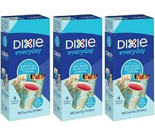 Dixie All Purpose Decorative Cup, 5 oz Cups - 100 ct (Pack of 3)