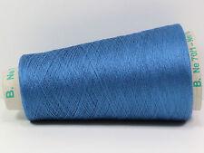 H08 100g PREMIUM COMFORT SEIDE - SILK BLAUTÜRKIS (52/2) Zwirn Wolle