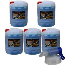 5 X 20L Pemco Anticongelante 911 Kühlflüssigkeiten Azul + Grifo de Vaciado