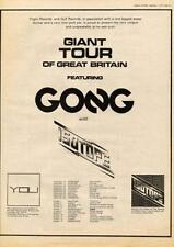 Gong & Isotope 1974 UK tour/advert MM-DSQI
