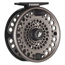 Sage Trout Reel Stealth/Silver - ALL SIZES - FREE LINE-BACKING - FREE FAST SHIP