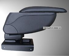 Armrest Center Console Black Storage Adjustable fit VW Golf VI 2008-2012 VW EOS