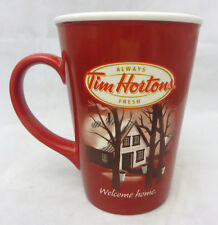 Tim Hortons  Coffee Mug limited edition number 11  Welcome Home