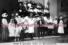 HA 381 - King & Queens Visit To Winchester, Hampshire 1912 - 6x4 Photo