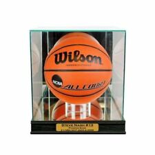 Basketball Display Case with custom nameplate