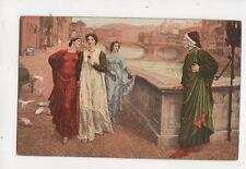 Holiday Dante & Beatrice 1909 Art Postcard 236b