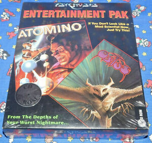 Obitus & Atomino Entertainment Pack PC 1995 Game CD Rom Sealed NEW RARE NIB HTF