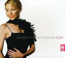 KYLIE MINOGUE - CONFIDE IN ME-THE IRRESISTIBLE KYLIE 2 CD NEU