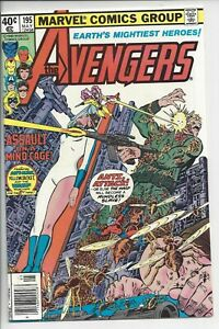 Avengers 195 - NM (9.6) 1st Cameo Taskmaster - Perez Cover and Art