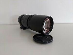 Olympus F. Zuiko Auto-T 300mm f/4.5 Vintage Lens