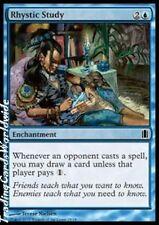 Rhystic study // foil // nm // Commander's arsenal // Engl. // Magic Gathering
