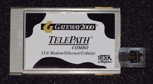 Original USR TelePath Ethernet & Modem Combo PC Card (PCMCIA Card) XJEM3336