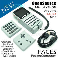 M5Stack ESP32 Computer with Keyboard/Gameboy/Calculator for Micropython Arduino