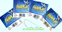 Cortland Fairplay & Fairplay Pro Looped Tapered Knotless Monofilament Leader