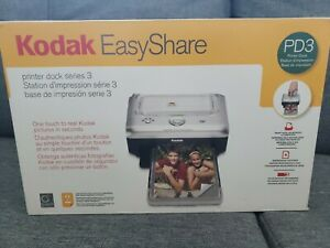 New Kodak Easyshare PD3 Series 3 One Touch Photo Printer Dock FREE SHIPPING