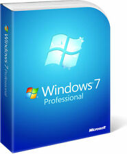 Microsoft Windows 7 Key Professional Ms Win 7 Pro Schlüssel 32/64 Bit DE EU