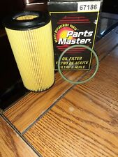67186 PARTS MASTER OIL FILTER FITS VOLVO C30 T5 R-DESIGN 2.5L GAS TURBOCHARGED-